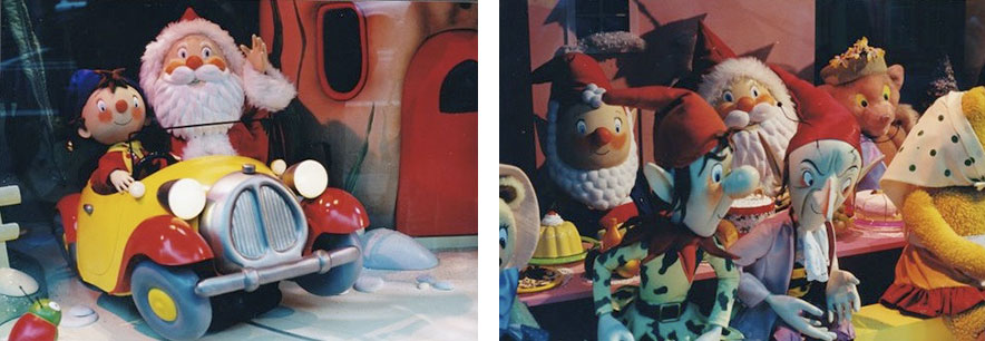 Noddy and Friends, Christmas Window at Hamleys